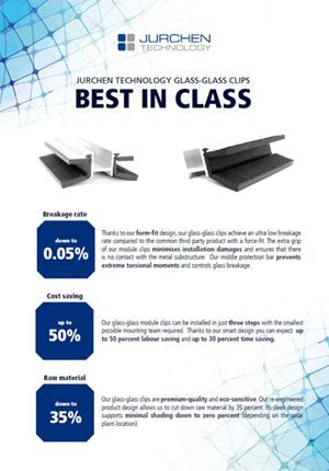 Moule clip Glass-Glass