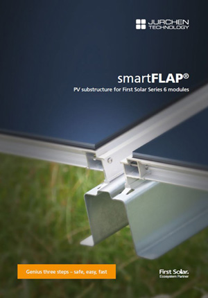 Brochure smartFLAP PV substructure
