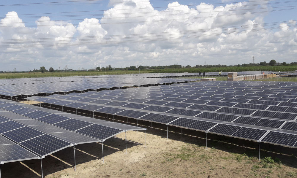 Peg solar panels netherlands