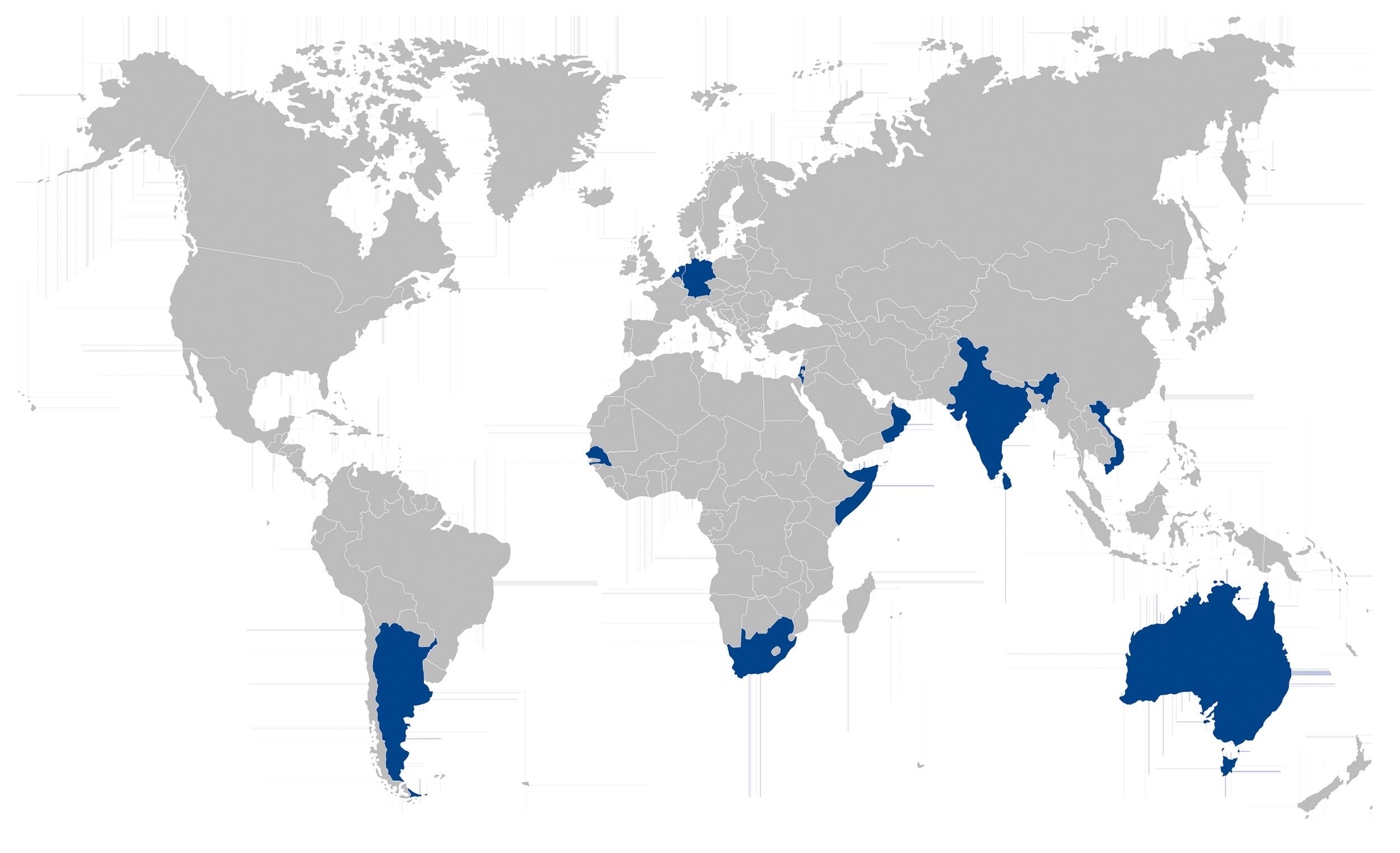 Solar power plants worldwide